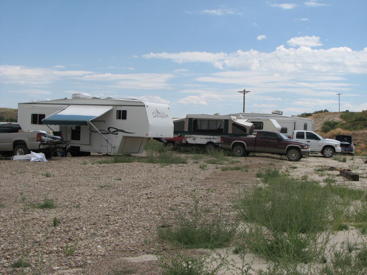 Juniper Hot Springs Camping