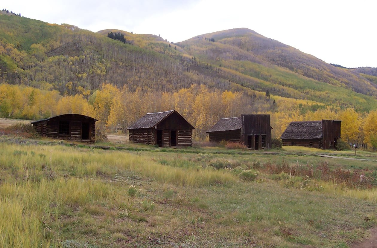 Ashcroft Colorado Ghost Town Pitkin County Ghost Town