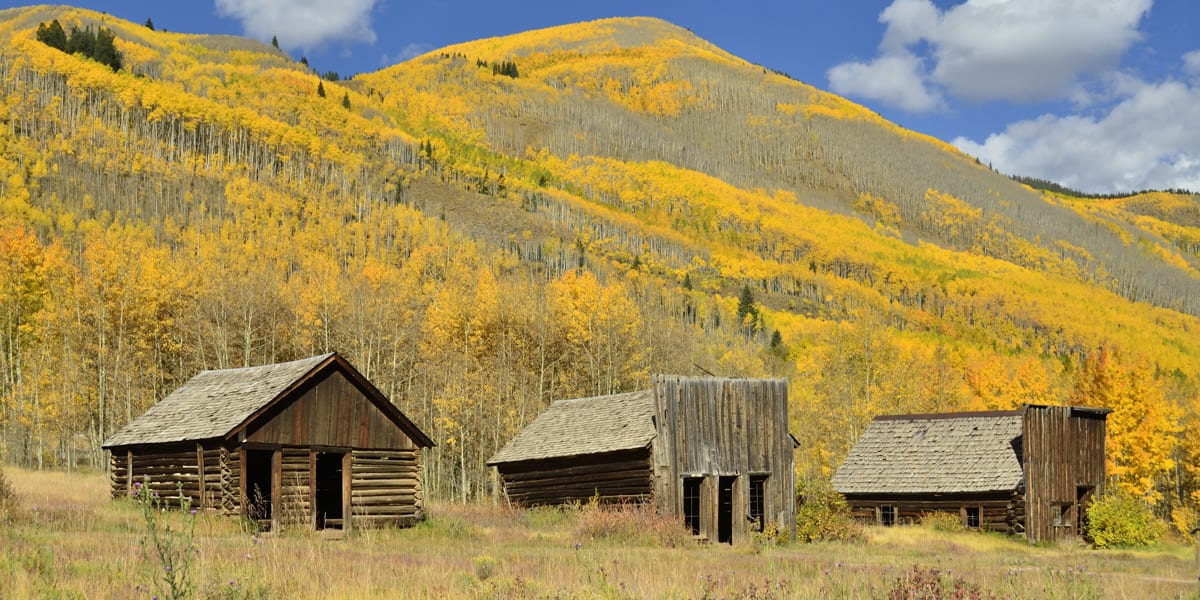 Ashcroft Ghost Town Colorado