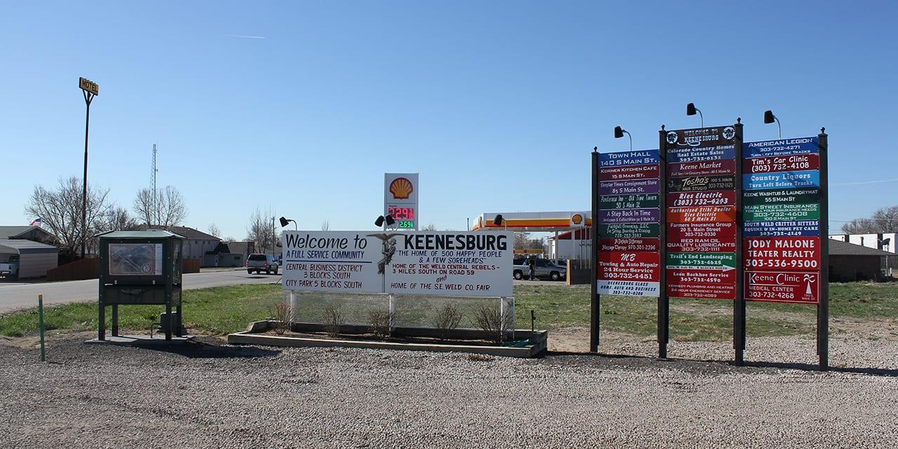 Keenesburg Colorado Market Street