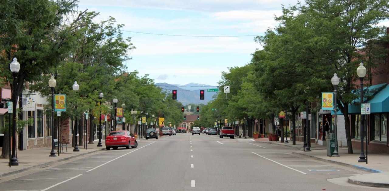 Main Street Downtown Littleton Colorado