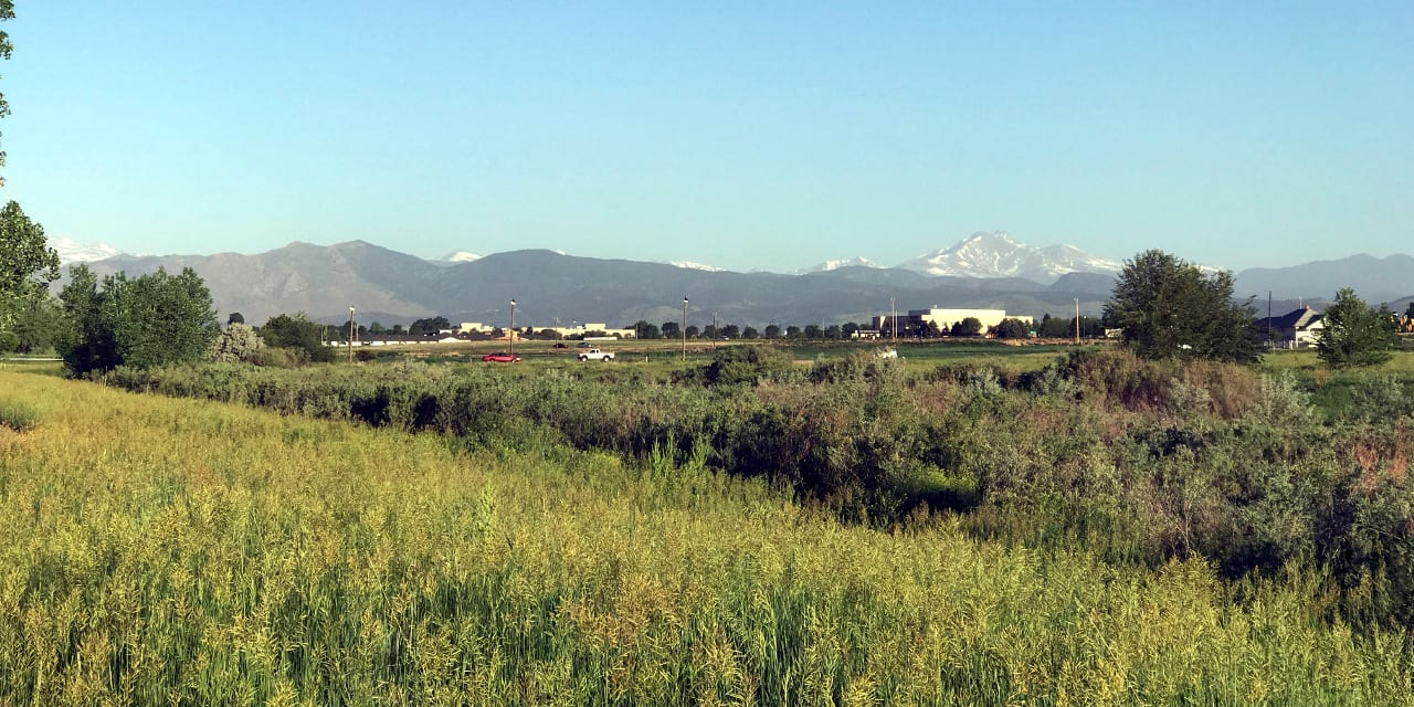 Longmont Colorado Longs Peak