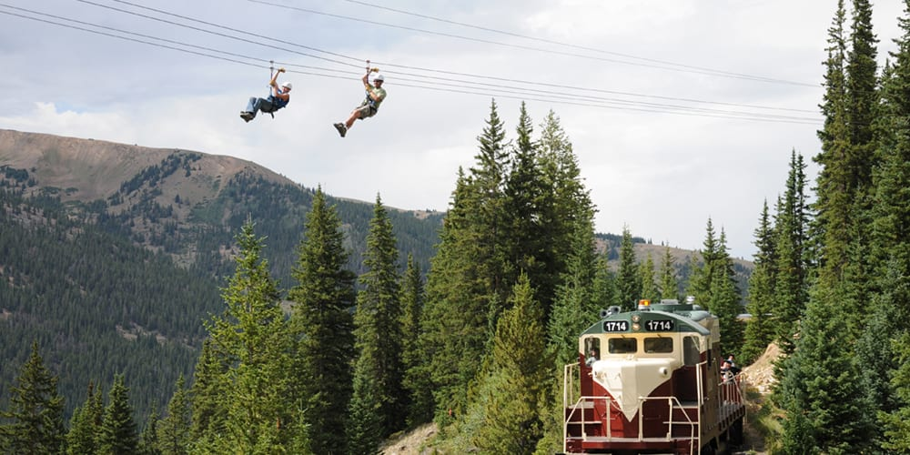 Top Of The Rockies Zip Line Leadville