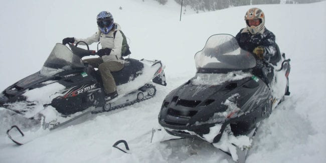 All Season Adventures Snowmobiling Salida