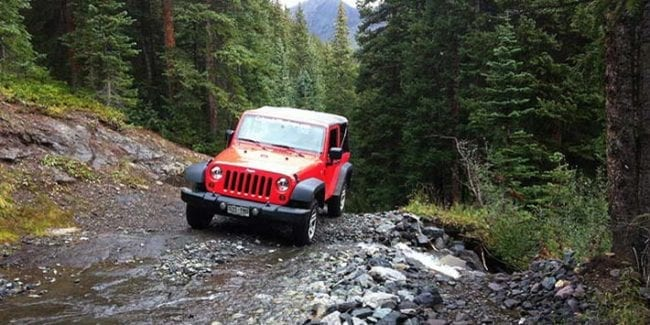 Colorado West Jeep Rentals Ouray