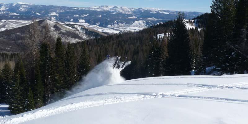 Hahns Peak Roadhouse Snowmobiling Clark