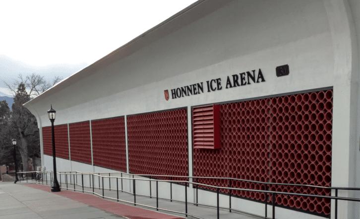 Honnen Ice Skate Colorado Springs Exterior