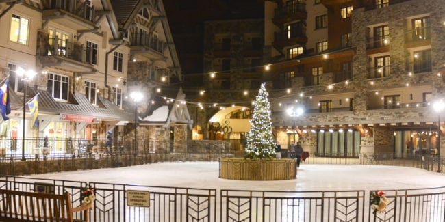 Mountain Village Ice Rink Telluride