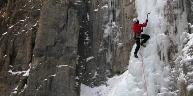 Peak Mountain Guides Ice Climbing Ouray