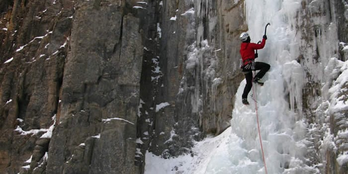 Peak Mountain Guides Ice Climbing Ouray