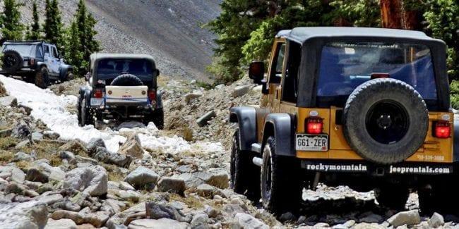 Rocky Mountain Jeep Rentals Salida