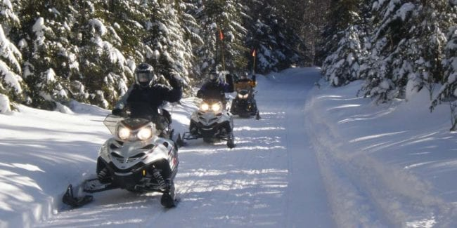Saddleback Ranch Snowmobile Tour