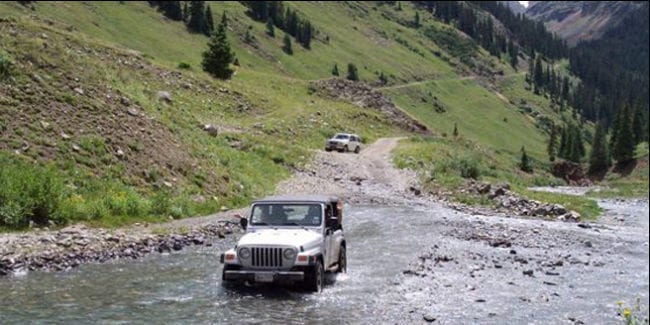 San Juan Backcountry Jeep Rentals Salida