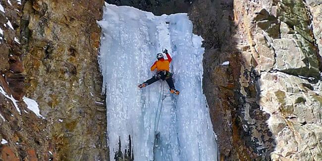 San Juan Mountain Guides Ice Climbing Ouray