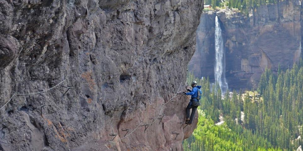 San Juan Mountain Guides Rock Climbing