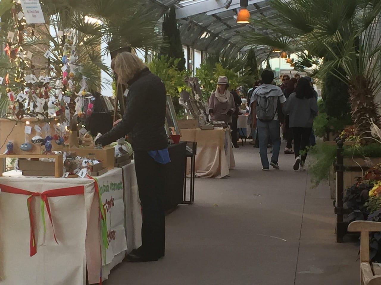 Denver Botanic Gardens Holiday Tent Sale