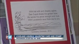 Loveland Colorado Valentine's Day Card