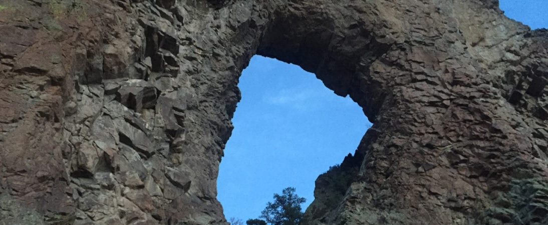 Natural High on Natural Arch