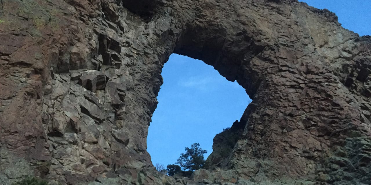 Natural Arch La Garita Colorado