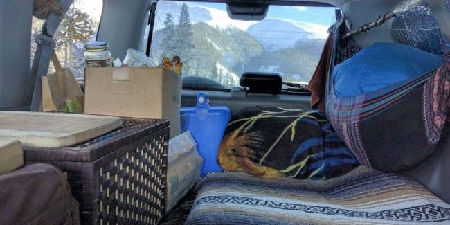 Retrofitting CRV Colorado Travel