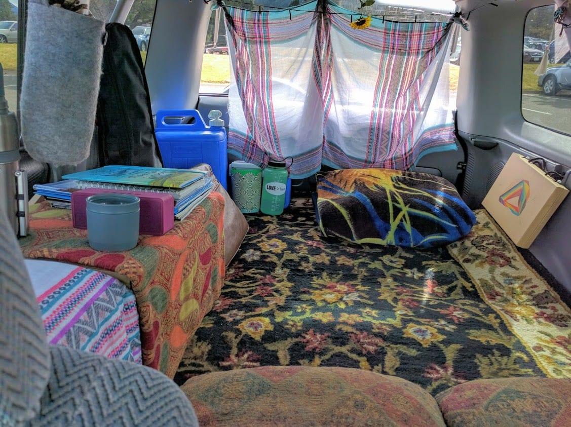Honda CRV Mobile Living Rug