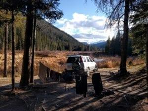 Vasquez Creek Camping Colorado