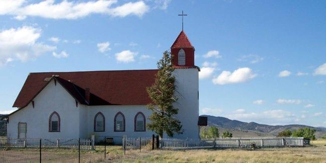 La Garita Colorado Church