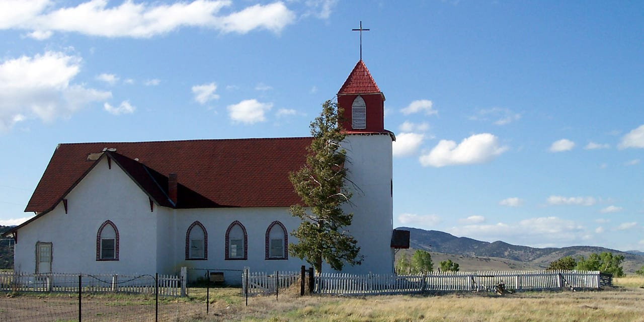 La Garita Colorado Church
