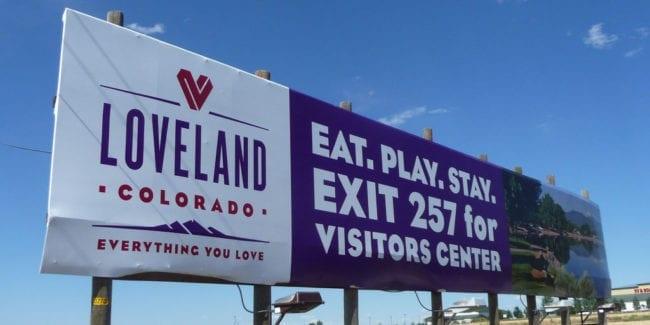 Loveland Colorado Billboard