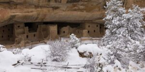 Mesa Verde Spruce Tree House Snow