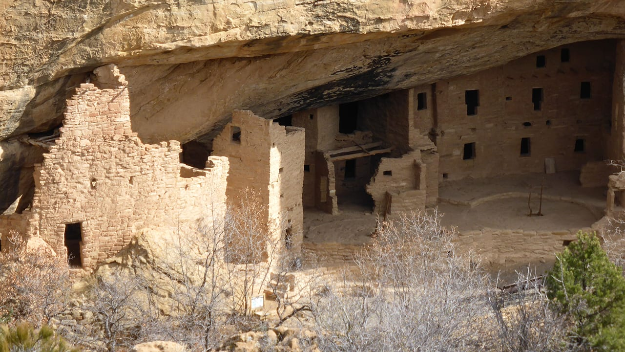 Mesa Verde Spruce Tree House Winter