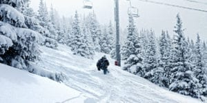 What is the largest ski area in Colorado?