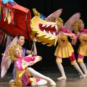 Colorado Springs Chinese New Year Dancers