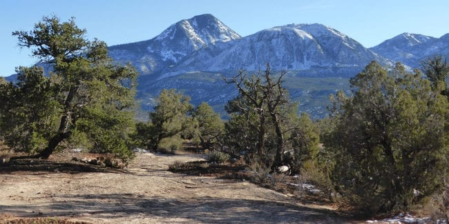 Canyons Ancients Sand Canyon Trail Sleeping Ute Mountain