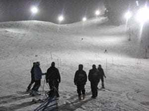 Howelsen Hill Ski Area Night Skiing