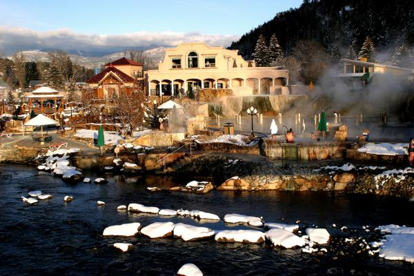 Pagosa Springs Resort Winter
