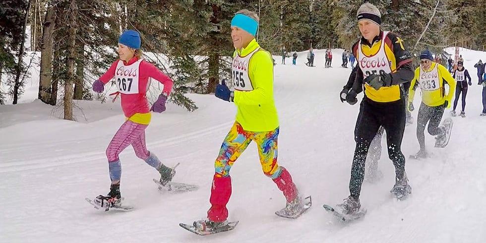 Winter Warrior Snowshoe Race Durango