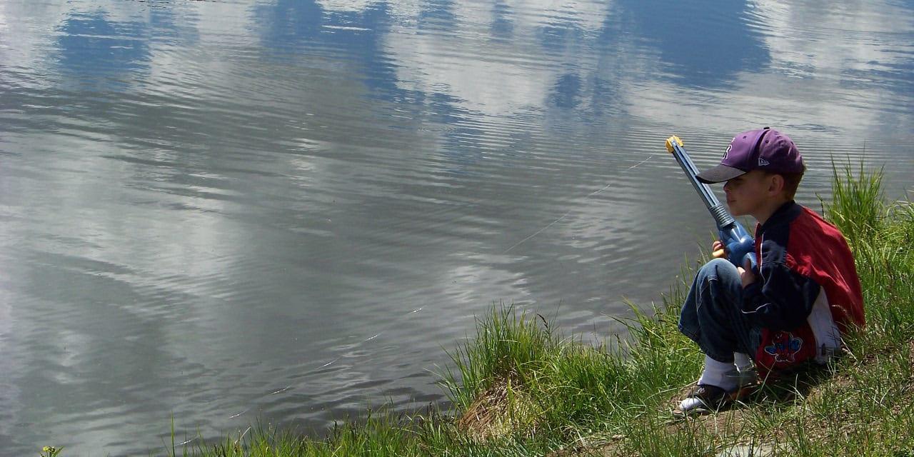 Gunnison Colorado Boy Fishing