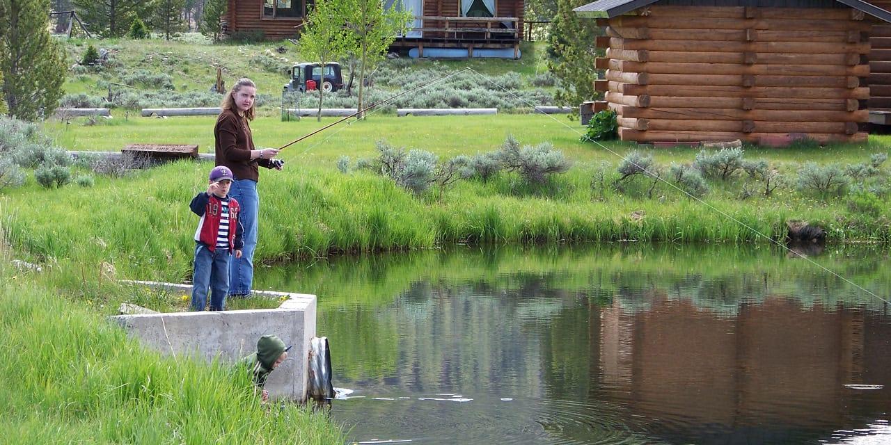 Family Fishing Gunnison Colorado