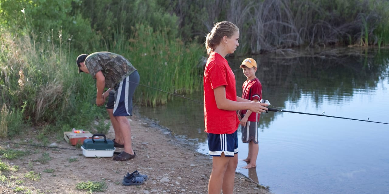 Colorado Family Fishing Lake