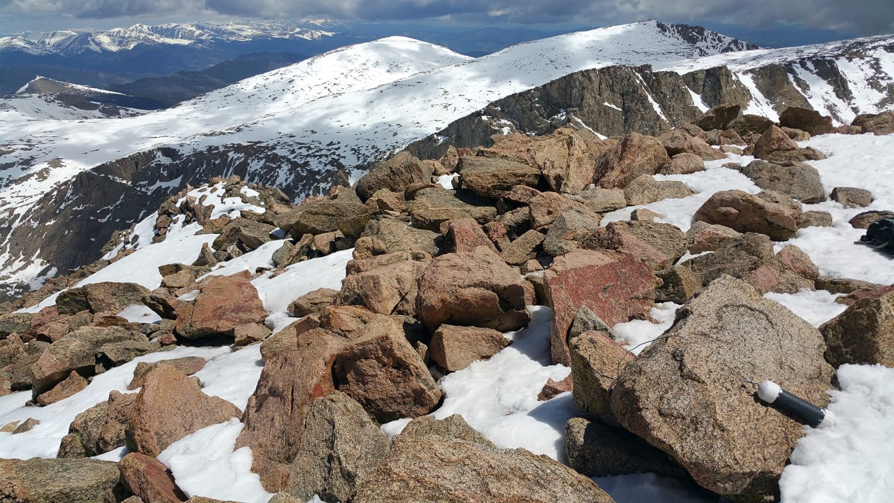 Mount Bierstadt Summit Colorado