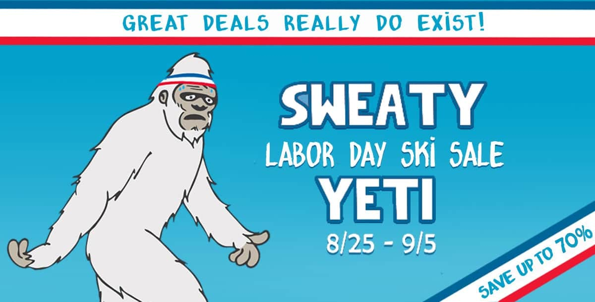 Powder 7 Sweaty Yeti