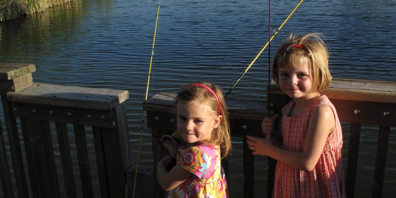 Rocky Mountain Arsenal Girls Fishing