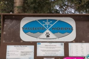 Vallecito Lake Nordic Club Trailhead