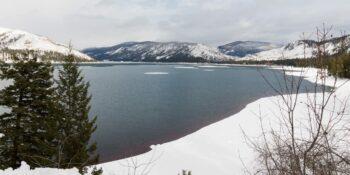 Cross Country Skiing Vallecito Lake Durango Colorado