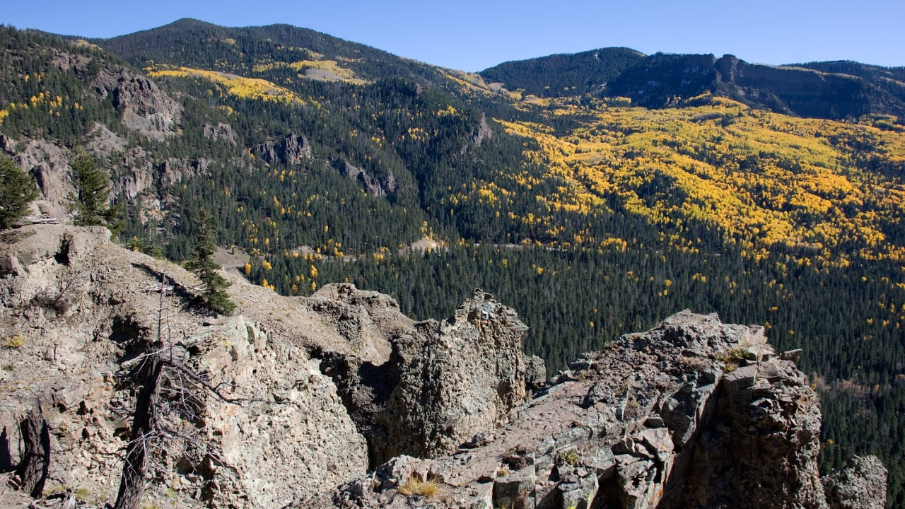 Wolf Creek Pass Overlook CO