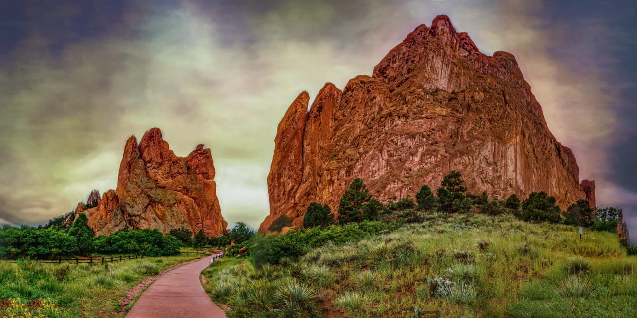 Garden of the Gods Path Colorado Springs