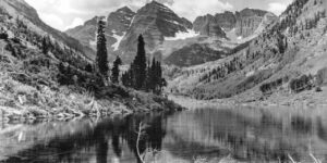 Maroon Bells Snowmass Wilderness Colorado Nature