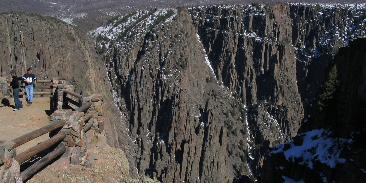 South Rim Black Canyon of the Gunnison