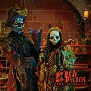 13th Floor Haunted House Skeletons Denver